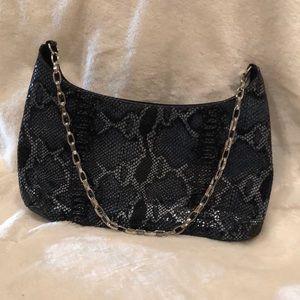 Handbags - Faux Snake Skin Handbag